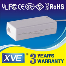 14.4V 3.2A travel charger power adapter with UL/CUL GS CE SAA FCC approved (3 years warranty)