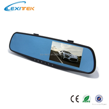 High Quality Night Vision Car DVR Camera Rear Mirror 4.3 Inch LCD Full HD 1080P and 140 Degree View Angle