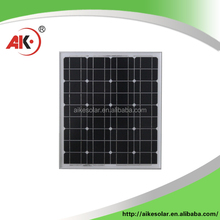 High efficiency Gold supplier mono 50w solar panel competitive price