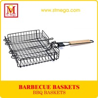 Rectangle Non-Stick BBQ Grill Basket