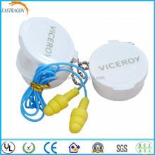 Custom Logo Sound Insulation Ear Plugs with String