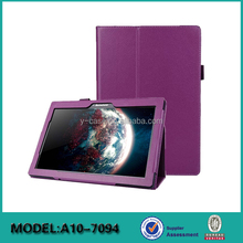Manufacturer tablet cover with card slots for Lenovo Tab 2 A10-70