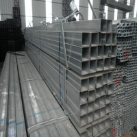 Iron GI / pre-galvanized hollow section steel square iron / steel pipe / tube