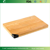 Multifunction Large Bamboo Sharpening Stone and Cutting Board Thick Bamboo Carving and Chopping Station Drip Groove Handle Big
