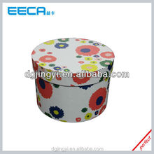 2015 hot sell round cardboard hat boxes design in Humen