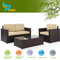 rattan glass top tables and chairs
