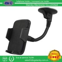 065-061# Flexible universal car pholder Cushioned cupule phone holder smart phone holder long neck holder