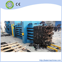 Automatic horizontal PP/PE plastic film press packing machine