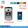 1.0 Megapixel Wifi video door Phone, better image and intercom door bell