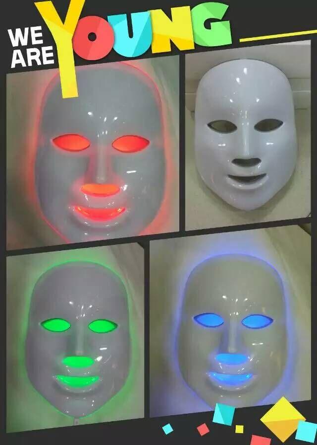 2015 NEW HOT!! 7 Color PDT LED Mask/ LED Facial Mask/ LED Light Therapy LED Face Mask