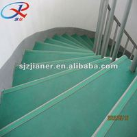Fire proof PVC roll flooring tiles for stairs