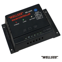 WS-L2415 12V/24V 10A 15A light controller solar charge controller wellsee intelligent traffic light controller