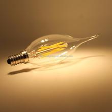 CE ROHS 2W 3.5W E14 E12 Dimmable Filament LED candle light