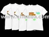 Plain T-Shirt, 100% Cotton, Best Quality from Indonesia
