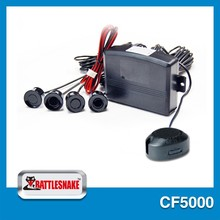 Easy installation high standard detachable car lcd parking sensor system