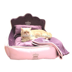 Luxury fancy design pet cat/dog bed for sale