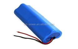 7.4v 6600mah lithium 18650 battery pack 2s3p 7.4v 6600mah