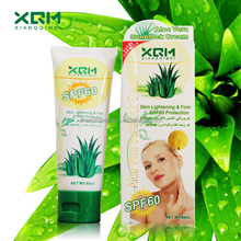 2015 Best XQM Aloe Vera Sunblock spf 60 Protection Block Cream /Whitening Sunscreen Cream