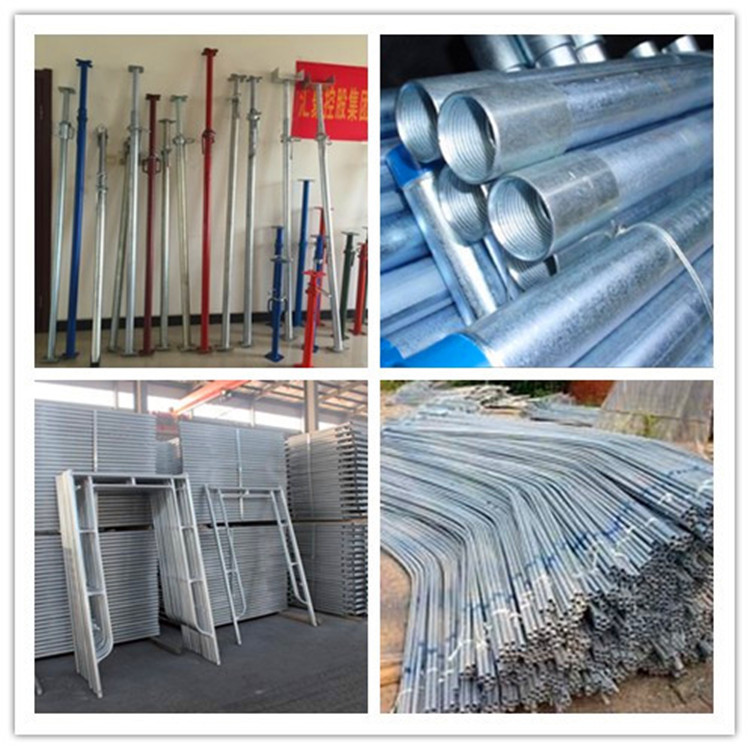 source bs1387 medium hot dipped galvanized steel pipe 165mm