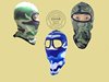 Made In China Manufacturer Price Eco Friendly Sublimation Screen Printed Winter Racing Soft Spandex Face Mask With Design