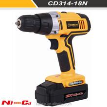"CD314-18L 18V 10MM / 3/8"" Keyless Two Speed Li-ion Cordless Drill With LED Light GS UL CD314-18L"