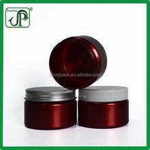 OEM Shining Red Face Night Cream Jar 4 Ounce Cosmetic Jars