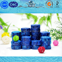 colorful toilet cleaner blue, green, pink, white, violet