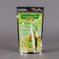 Customized Storage clear plastic zipper coffee bag wholesale