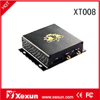 real time vehicle gps tracker XT008, analog input, RFID/RS232 /inputs/outputs/Free tracking platform