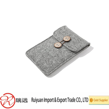 High quality custom felt phone case made in China