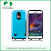 Popular Iface design PC Bumper + TPU Slim Armor Dual Shockproof with card slot Hard case cover for Samsung Galaxy Note 4