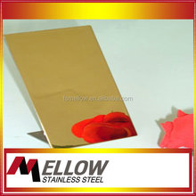 Mellow Stainless Steel Mirror Finish Sheet For Wall Panels kitchen equipment