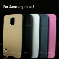 For Samsung Galaxy Note III 3 N9000 Metal Brushed Case