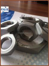 NPT/BSPT/BSP/DIN2999 SCREWED Stainless Steel 304/316 Hex Nuts Direct FACTORY/ Manufacturer