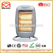 Hot Sell Safety tip over switch Infrared Halogen Heater