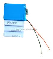 18650 li-ion battery pack 11.1v customized battery packs