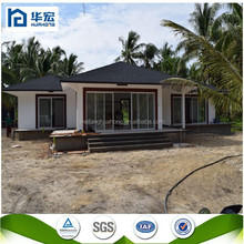 prefabricated house AU/ SGS certificated foamed cement board house in Netherlands Antilles supplier