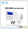 intruder alarm system low cost wireless gsm sms alarm system gsm sms rfid touch keypad alarm system
