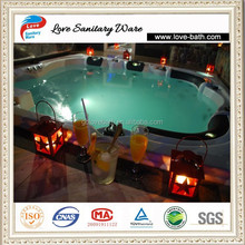 combo massage air & whirlpool 47massage jets hot tub spa pool