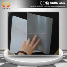 White grey PET film 175micron eco-solvent pet film for roll up display
