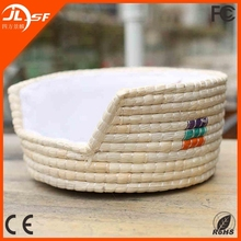 Western market Hot selling small dog bed rattan dog bed