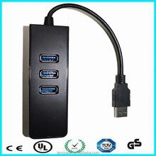 Black gigabit usb3.0 rj45 ethernet lan network card adapter