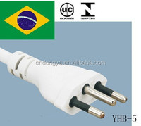 UC approval 3pin 10A 250V power cord for home appliance