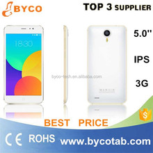 Popular Super Slim big 5.0 inch screen /dropshipping google android 4.4 smart phone/unlocked factory phones
