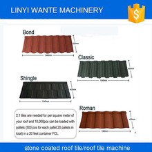 Trade assurance stone coated metal roof tiles,color coated roofing sheet
