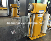 Most easy operate and cheap Automatic pallet wrapping machine with SIEMENS eletric parts touch screen