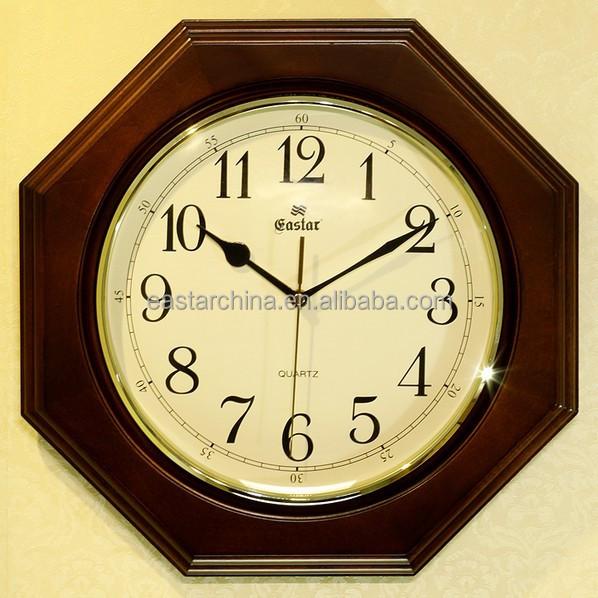 artistic wooden wall clock wooden quartz clock buy