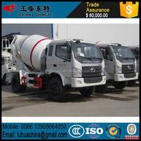 4X2 small concrete mixer truck concrete pump AND FOTON Concrete Mixer Truck FOR SALE