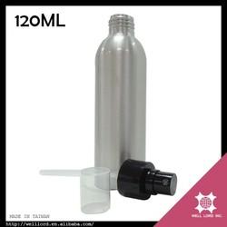 Basic type olive oil hair treatment 120ml pump spray aluminum bottle