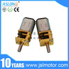 3volt 6volt 12volt mini N20 dc gear motor with gear reduction High Speed High Torque right angle gear motor for toys